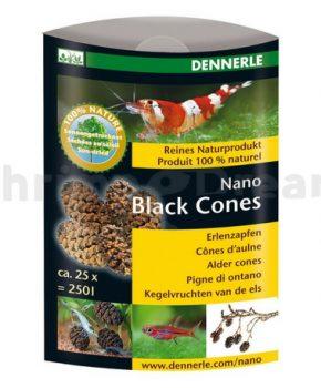 Dennerle Nano Black Cones, 25 unid.