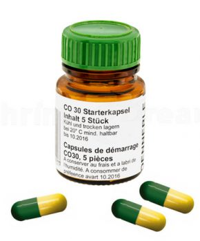Dennerle CO30 Starter Capsules, 5 Unid.