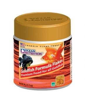 Ocean Nutrition Goldfish Formula Flakes, 34g