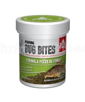 Fluval Bug Bites Bottom Feeder Formula, 45g
