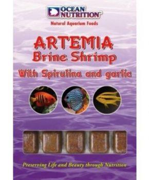 Ocean Nutrition Artémia c/ spirulina e alho